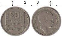Изображение Монеты Алжир 20 франков 1956 Медно-никель VF
