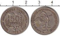 Изображение Монеты Западно-Африканский Союз 50 франков 1972 Медно-никель VF