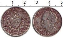 Изображение Монеты Куба 20 сентаво 1968 Медно-никель XF Хосе Марти