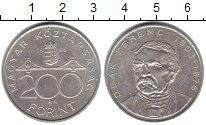 Изображение Монеты Венгрия 200 форинтов 1994 Серебро XF-