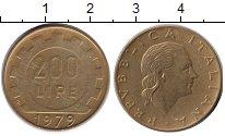 Изображение Монеты Италия 200 лир 1979  VF