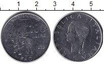 Изображение Монеты Италия 100 лир 1979  UNC