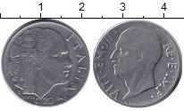 Изображение Монеты Италия 20 сентесим 1940  XF