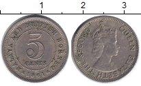 Изображение Монеты Малайя 5 центов 1961 Медно-никель XF-