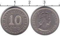 Изображение Монеты Малайя 5 центов 0 Медно-никель XF-