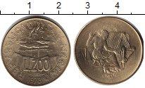 Изображение Монеты Сан-Марино 200 лир 1978  UNC