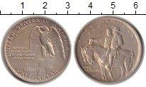 Изображение Монеты США 1/2 доллара 1925 Серебро UNC- Генералы Ли и Джексо
