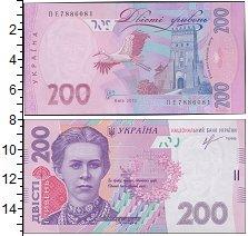 Изображение Боны Україна 200 гривен 2013  UNC-