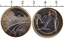 Изображение Мелочь Финляндия 5 евро 2016 Биметалл XF