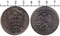 Изображение Монеты Португалия 250 эскудо 1988 Медно-никель XF XXIV олимпийские игр