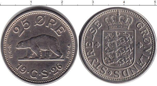 Картинка Монеты Гренландия 25 эре Медно-никель 1926