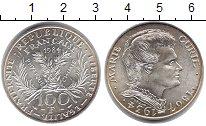 Изображение Монеты Франция 100 франков 1984 Серебро XF