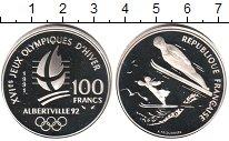 Изображение Монеты Франция 100 франков 1991 Серебро Proof-