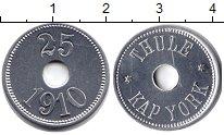 Изображение Монеты Дания Гренландия 25 эре 1910 Алюминий UNC-