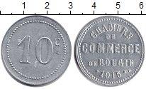 Изображение Монеты Алжир 10 сантим 1915 Серебро UNC- Французская оккупаци