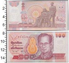 Изображение Боны Таиланд 100 бат 0  UNC- Король Рама IX