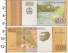 Изображение Банкноты Ангола 500 кванза 0  UNC-