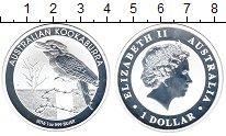 Изображение Мелочь Австралия 1 доллар 2016 Серебро Proof-