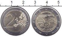 Изображение Мелочь Австрия 2 евро 2016 Биметалл UNC