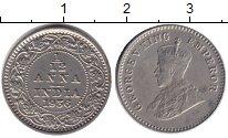 Изображение Монеты Индия 1/12 анны 1936  XF