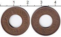 Изображение Монеты Индия 1 пайс 1944 Медь XF