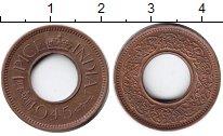 Изображение Монеты Индия 1 пайс 1945 Медь XF