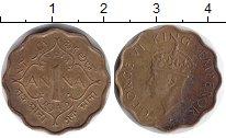 Изображение Монеты Индия 1 анна 1945  XF