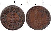 Изображение Монеты Индия 1/12 анны 1930 Медь VF