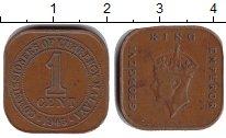 Изображение Монеты Малайя 1 цент 1945 Медь VF