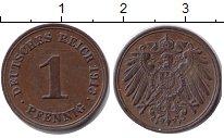Изображение Монеты Германия 1 пфенниг 1913 Медь XF