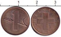 Изображение Монеты Швейцария 1 рапп 1982  XF