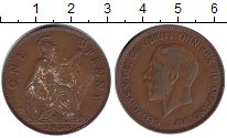 Изображение Монеты Великобритания 1 пенни 1936 Медь VF