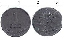 Изображение Монеты Дания 1 эре 1966 Медно-никель XF