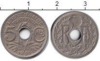 Изображение Монеты Франция 5 сантим 1935 Медно-никель XF