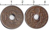 Изображение Монеты Франция 10 сантим 1926 Медно-никель XF