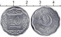 Изображение Монеты Пакистан 10 пайс 1991 Алюминий UNC-
