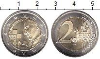 Изображение Мелочь Эстония 2 евро 2016 Биметалл UNC