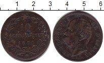Изображение Монеты Италия 10 сентесим 1894 Медь VF