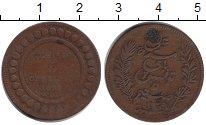 Изображение Монеты Тунис 5 сантим 1890 Медь VF