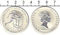 Изображение Монеты Австралия 10 долларов 1994 Серебро Proof Эдвин Флек - первый