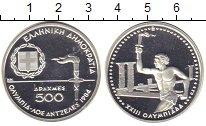 Изображение Монеты Греция 500 драхм 1984 Серебро Proof Олимпийские игры в Л