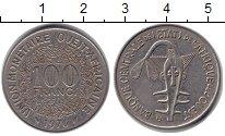 Изображение Барахолка Западно-Африканский Союз 100 франков 1976 Медно-никель XF