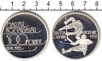 Изображение Монеты  500 форинтов 1989 Серебро Proof