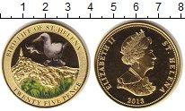 Изображение Монеты Остров Святой Елены 25 пенсов 2013  Proof Птицы (эмаль)