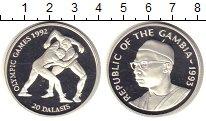 Изображение Монеты Гамбия 20 даласи 1993 Серебро Proof