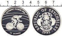 Изображение Монеты Сейшелы 25 рупий 1995 Серебро Proof Олимпийсие игры в Ат