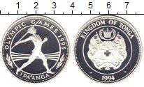 Изображение Монеты Тонга 1 паанга 1994 Серебро Proof