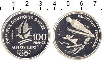 Изображение Монеты Франция 100 франков 1991 Серебро Proof