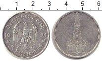Изображение Монеты Третий Рейх 5 марок 1934 Серебро VF A