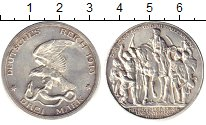 Изображение Монеты Пруссия 2 марки 1913 Серебро XF Орёл, терзающий змею